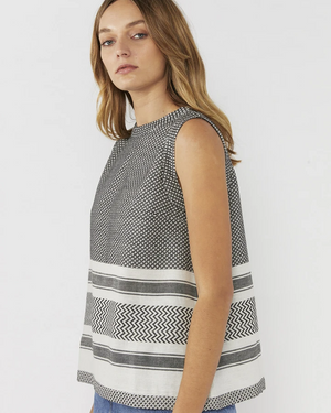 Everly Collective Big Plans Sleeveless Top