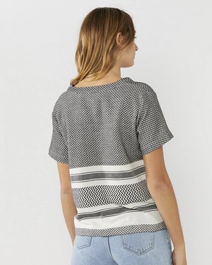 Everly Collective Good Times V-Neck Top