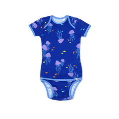 EASYEO Essential Ocean Waves Baby Romper Collection