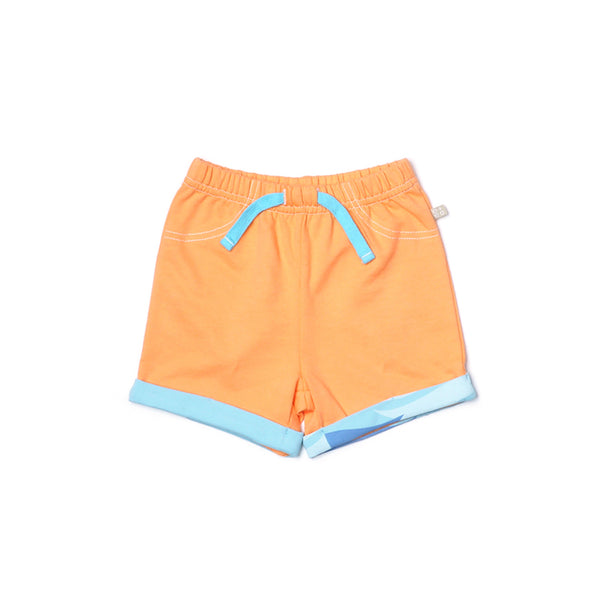 Ocean Waves Casual Shorts Collection