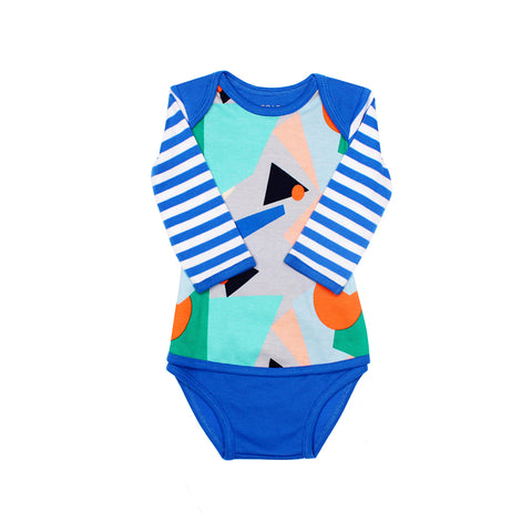 EASYEO Matrix Long Sleeve Baby Romper
