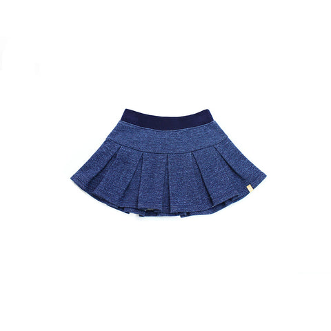 Marl Navy Baby Playtime Skirt
