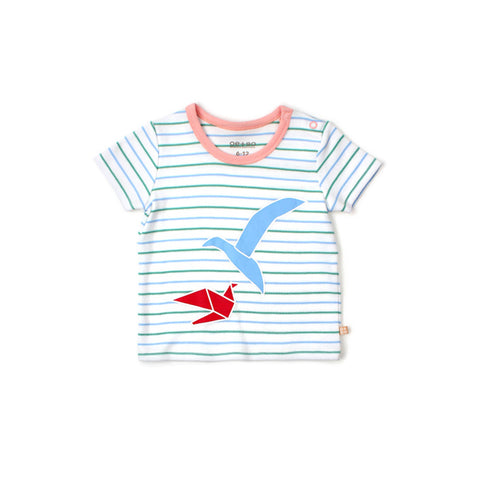 The Essential Baby Striped Tee