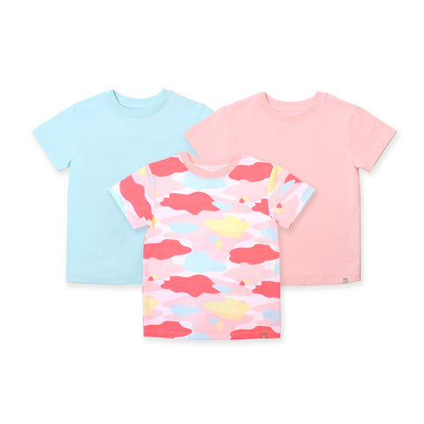 Camo Flash Toddler Essential Tee 3-Piece Bundle (Pink)