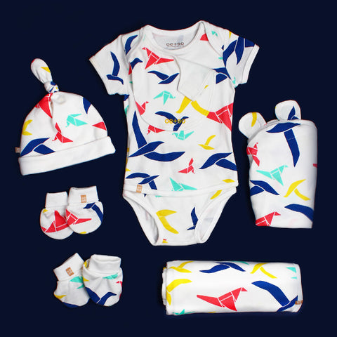 EASYEO Origami Baby Welcome Set 0-3 months