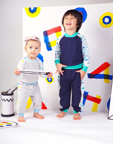 Get Messy Terry Sweater and Pants Set