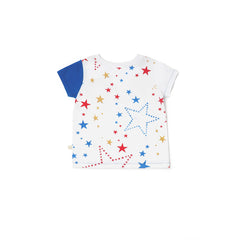 Starry Gaze Asymmetrical Tee