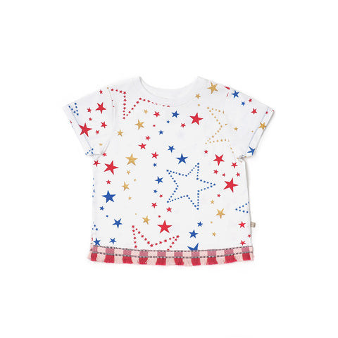 Starry Gaze Fringed Tee