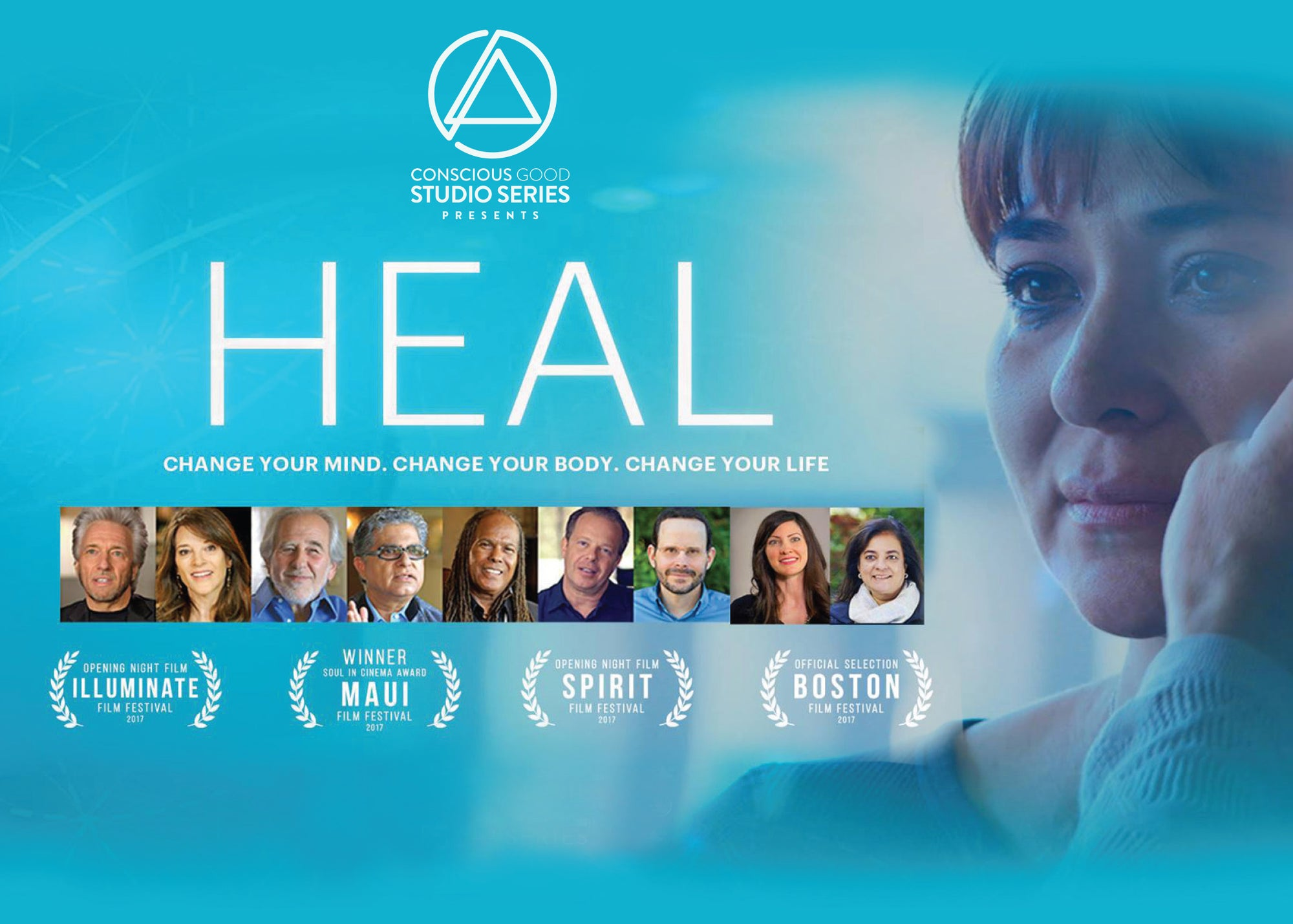 Heal documentary poster