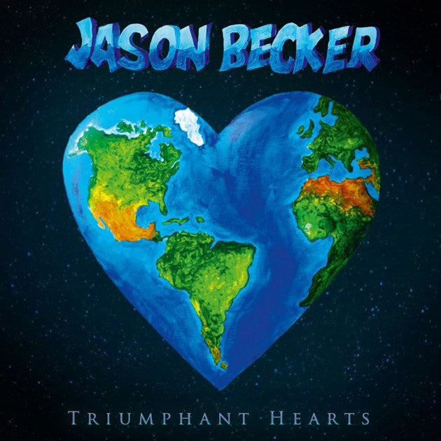 Jason Becker's 'Triumphant Heart' album cover
