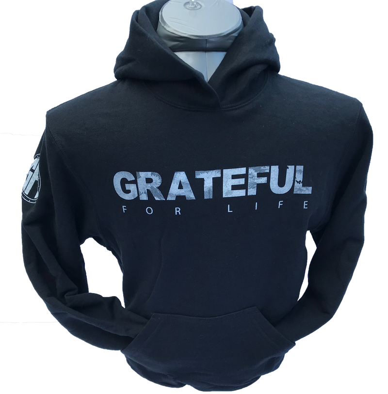 Grateful For Life Kids Sweatshirts