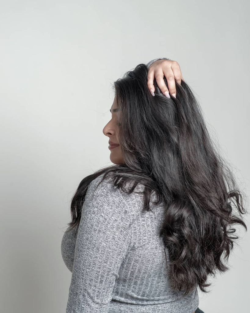 Simple Wavy Hair Stying Tip