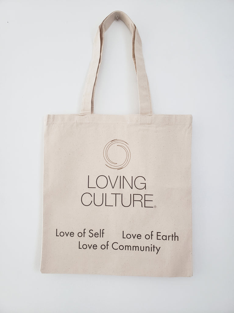 Love Sustainable Tote Bag