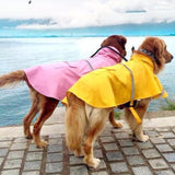 S-4XL Large Dog Waterproof Rain Coat Pet Clothes Pet Raincoat Jacket Clothing for Big Dogs Clothes Apparel 29