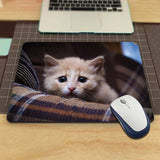 MaiYaCa Unique Design Scared cat Mouse Pad Computer aming Mouse Pad amer Play Mats The best choice for gifts