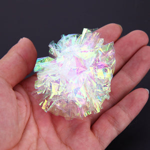 12pcs Mylar Crinkle Balls Cat Toys Interactive Sound Ball Big Balls Toys Ring Paper Pet Play Balls Toys Dog Accessories