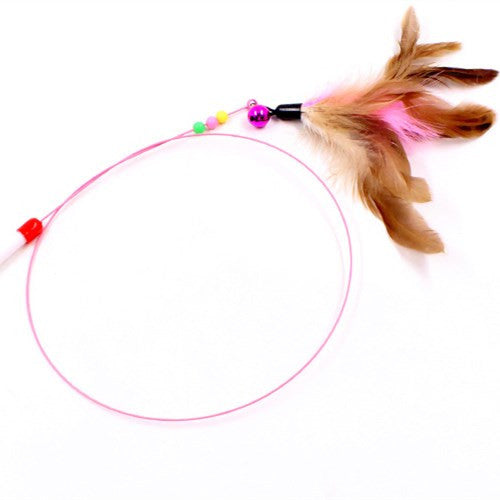 Feather Cat Charmer Toy