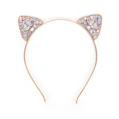 Cat Ears Hair Hoop Headband for Women Girls
