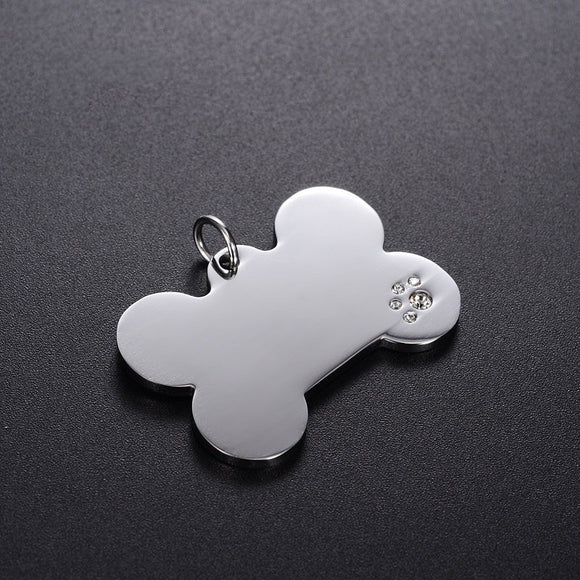 Pet ID Tag for Dog & Cat Collars