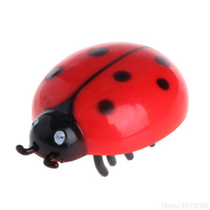 Cat Toys Teaser Interactive Pet Beetle Cicada Auto Electric Walking Insect Mini W215