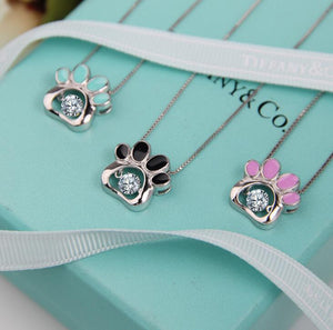 New Korean Version Cat Claw S925 Sterling Silver Necklace Female Clavicle Chain Japan pendant Dropship Accepted YP3901