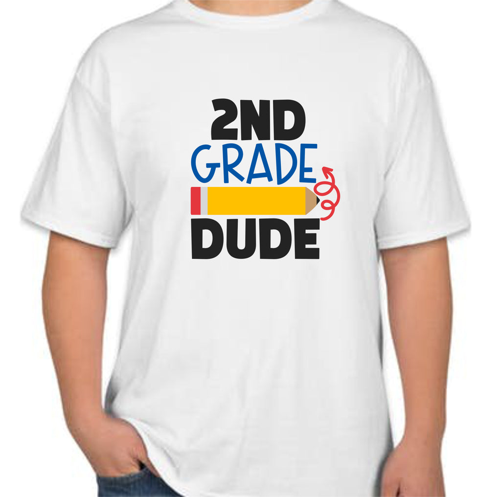 2nd Grade Dude! Kids T-Shirt