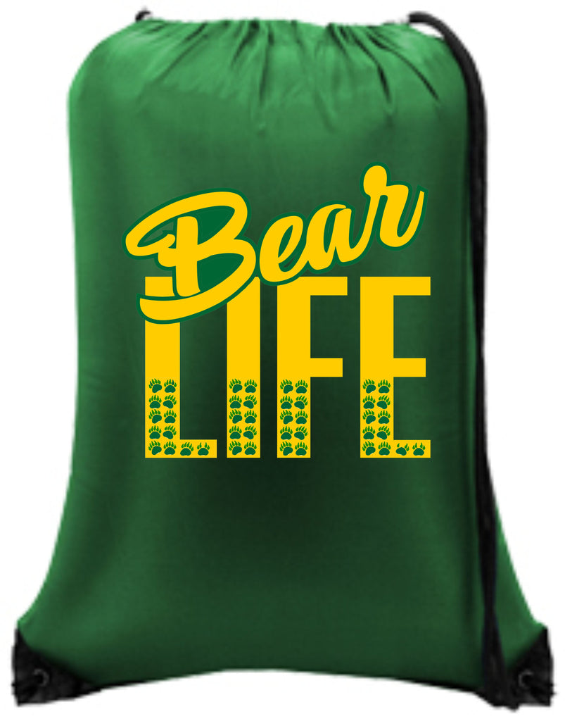 Bear Life Custom Backpack Bags - TruColors Art & Design