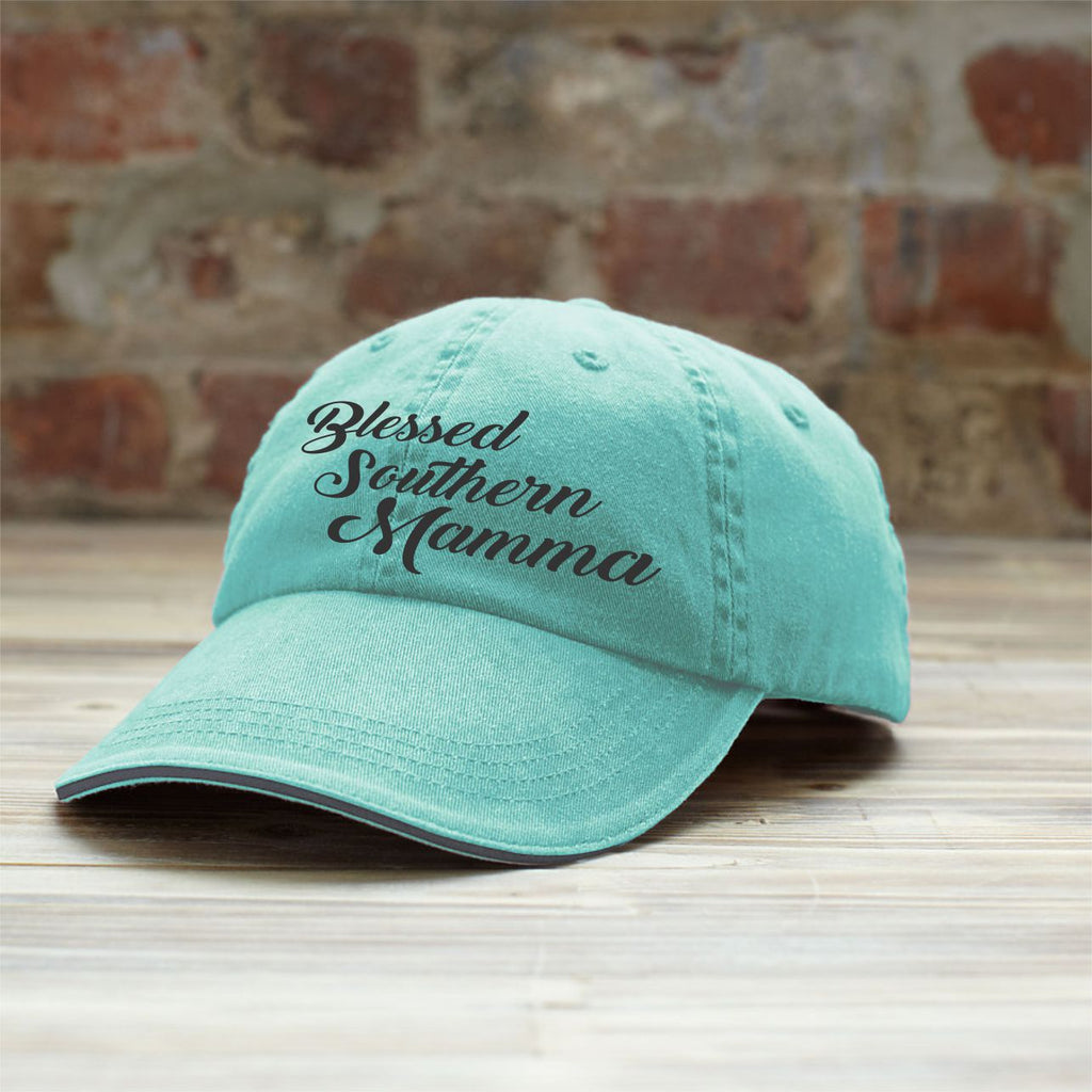 Blessed Southern Mamma Hat Hats - TruColors Art & Design