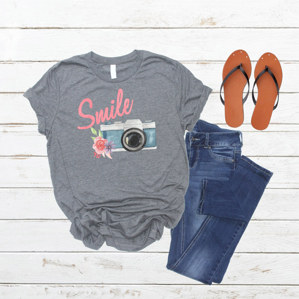 Smile! Ladies Tee