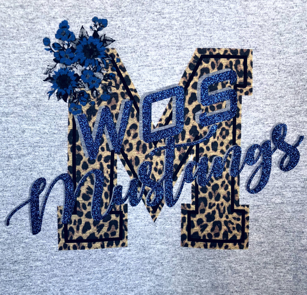 WOS Mustangs Wild M T-Shirts - TruColors Art & Design