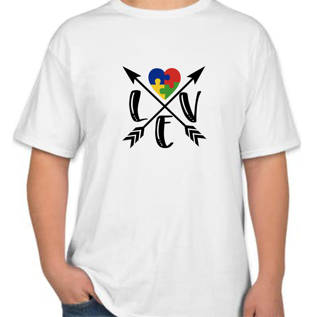 "Autism ""Love"" Kids T-Shirt"