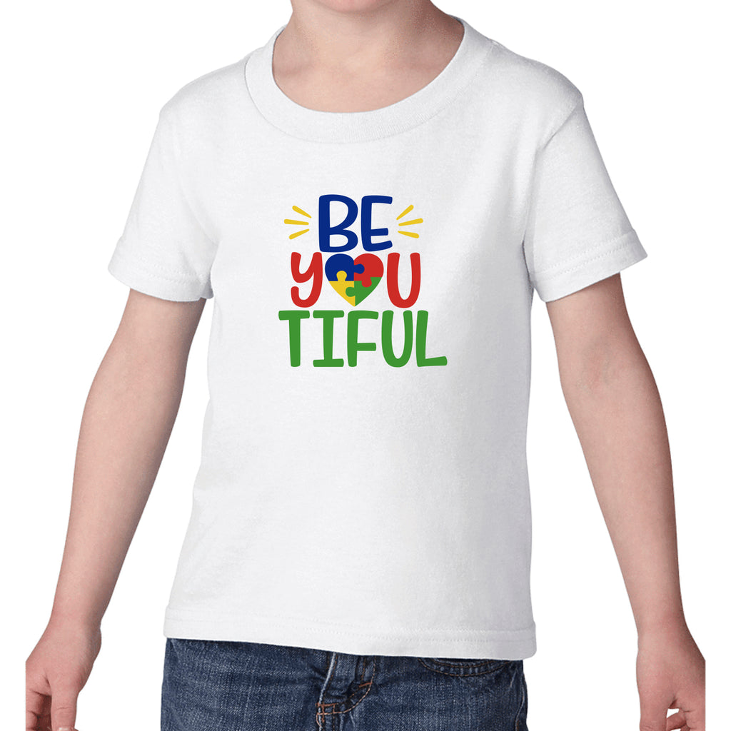 "Autism ""BeYouTiful"" Kids T-Shirt"