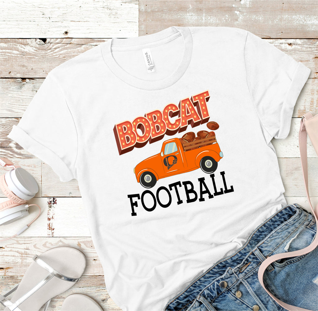 Bobcat Football Ladies Tee