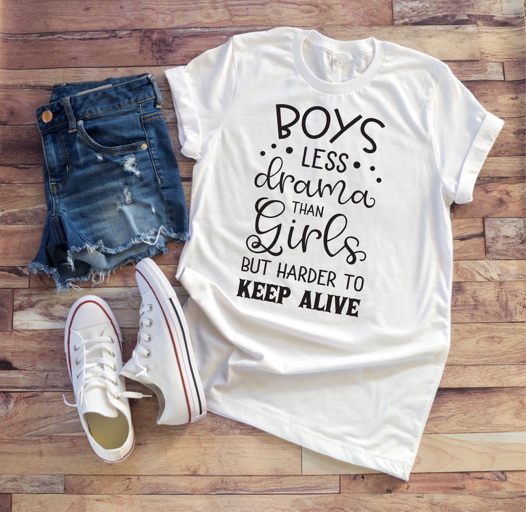Boys Vs. Girls Ladies Tee