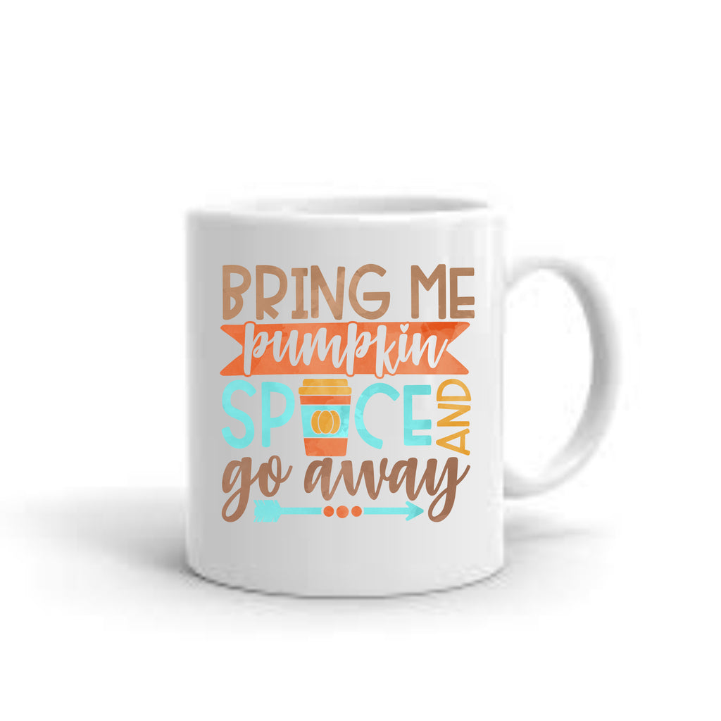 Bring Me Pumpkin Spice Coffee Mug mug - TruColors Art & Design