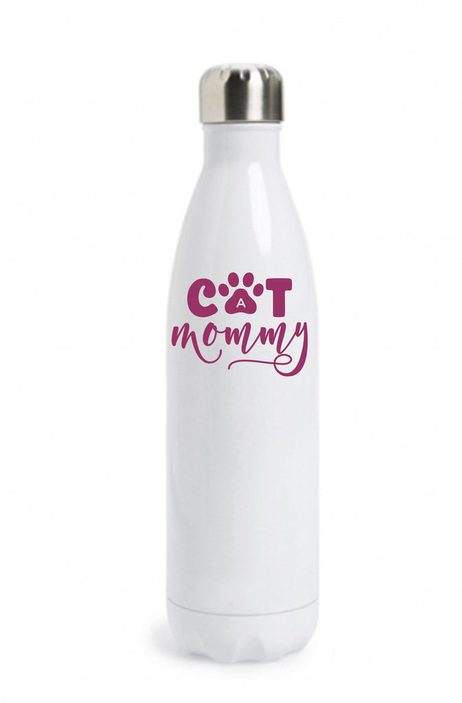 Cat Mommy Water Bottle Water Bottle - TruColors Art & Design