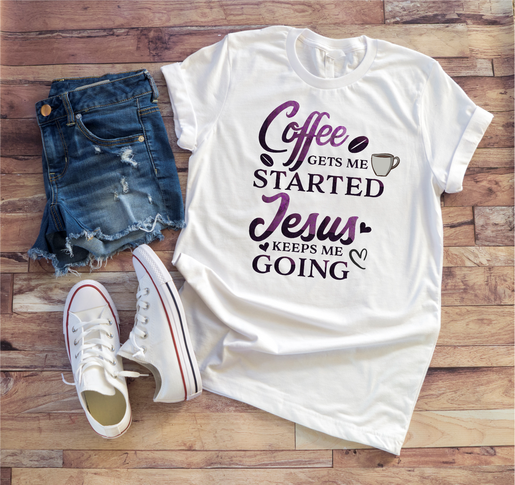 Jesus And Coffee Tee