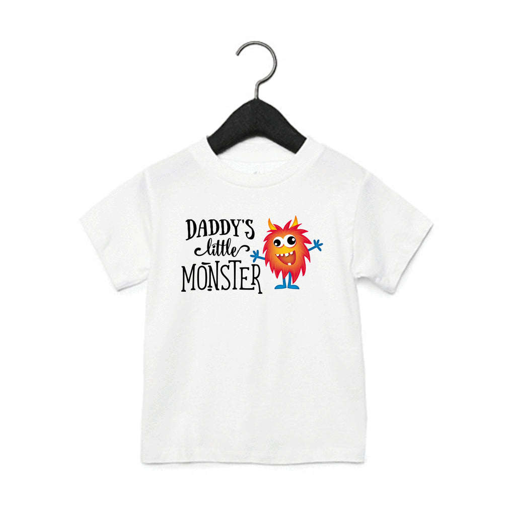 Daddy's Little Monster Toddler T-Shirt
