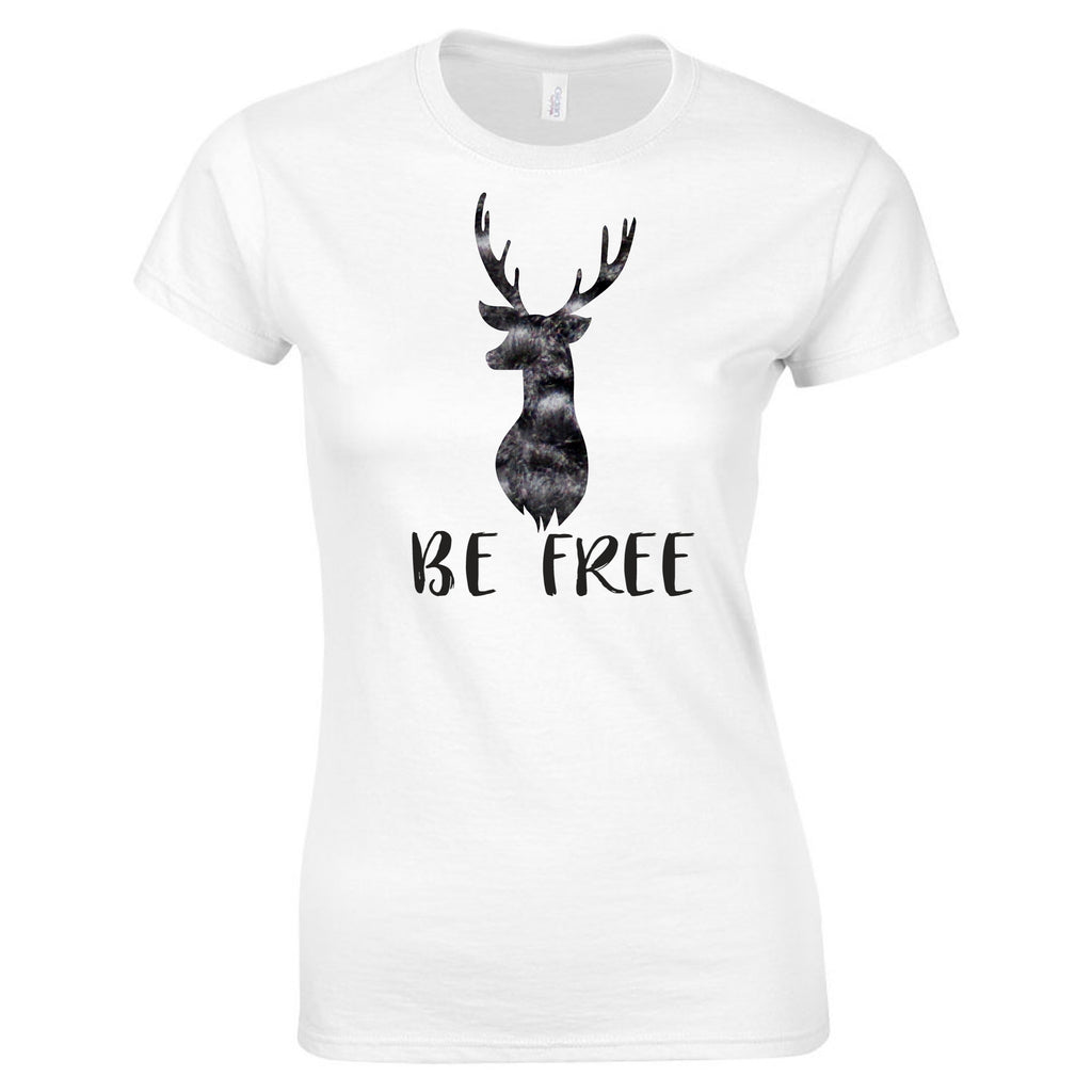 """Be Free"" Men's and Ladies Tee T-Shirts - TruColors Art & Design"