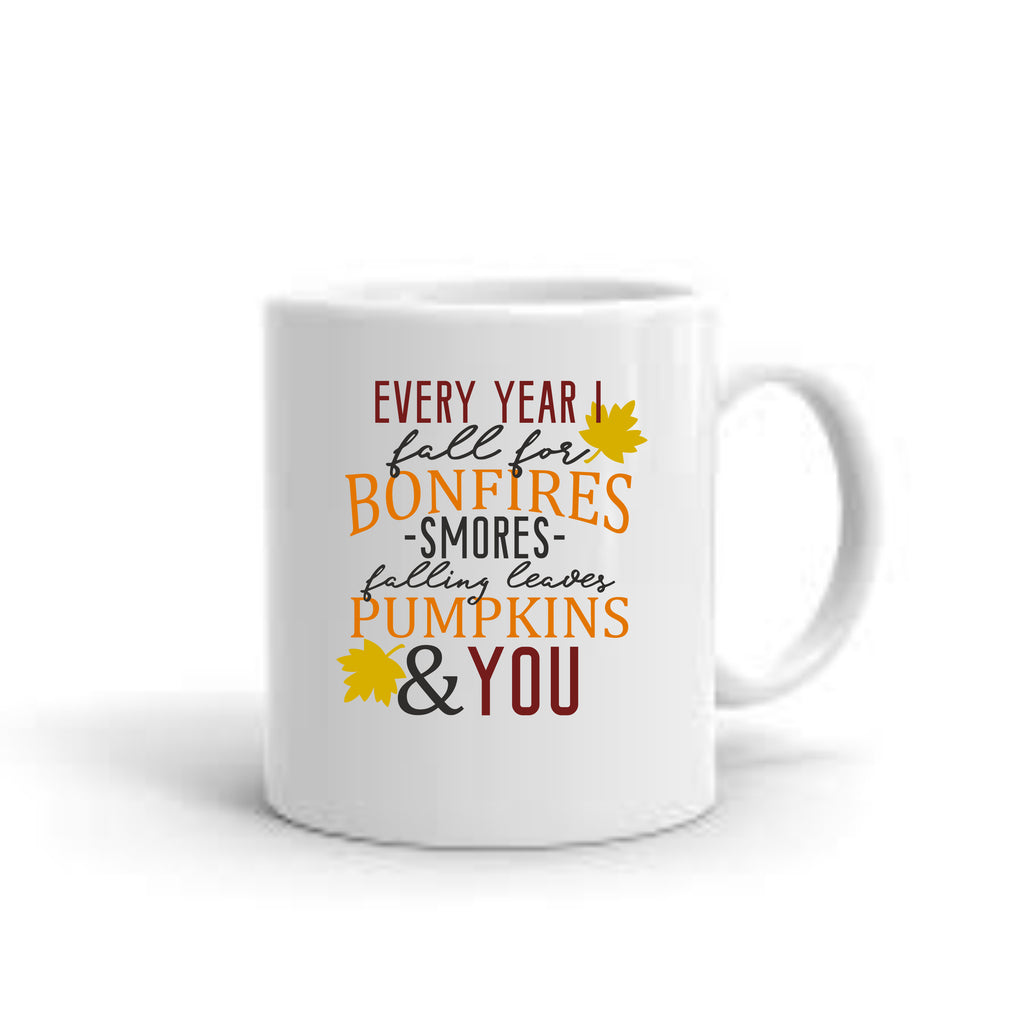 Every Year I Fall For... Coffee Mug mug - TruColors Art & Design