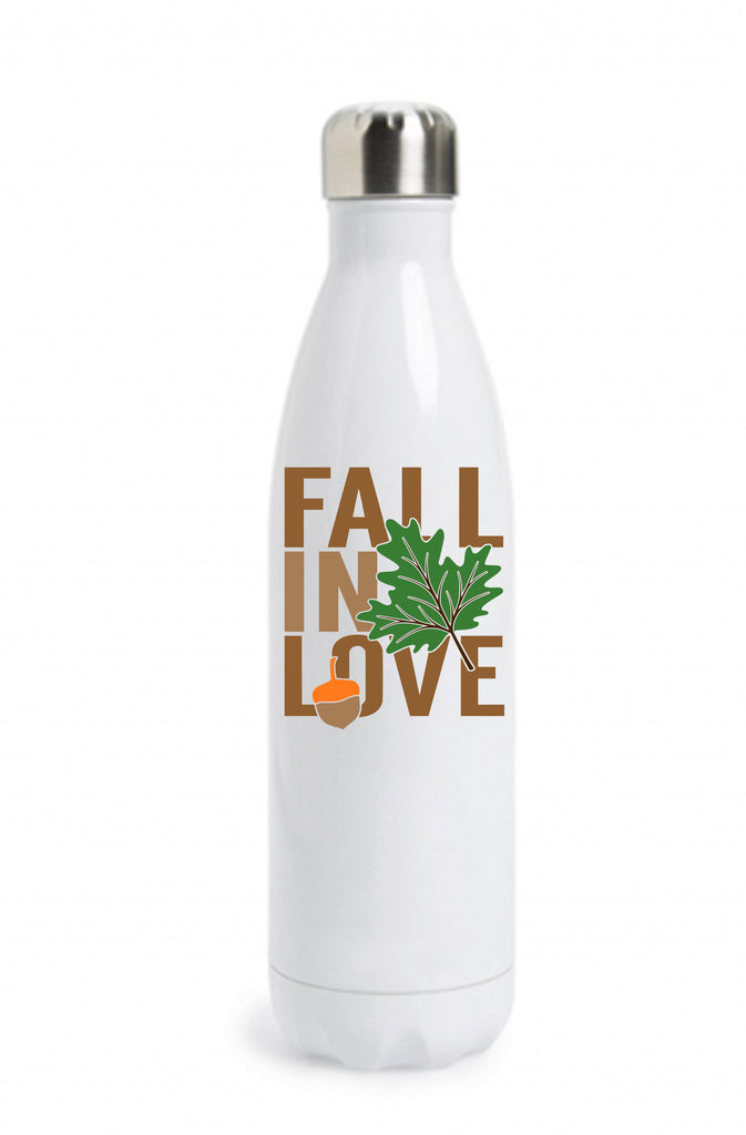 """Fall In Love"" Water Bottle Water Bottle - TruColors Art & Design"