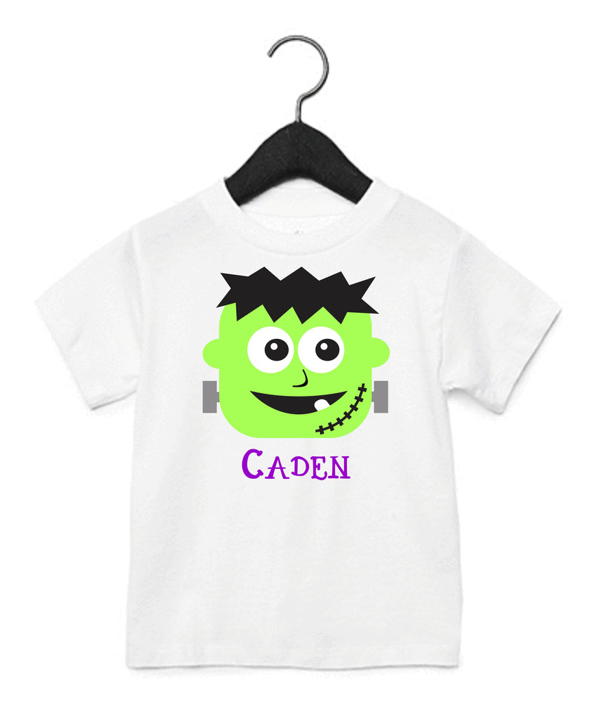 Personalized Frankenstein Kids T-Shirt T-Shirts - TruColors Art & Design