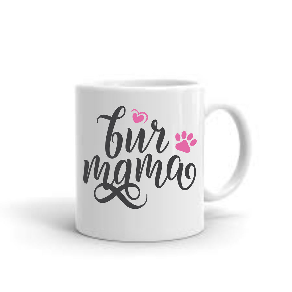 Fur Mama Coffee Mug mug - TruColors Art & Design