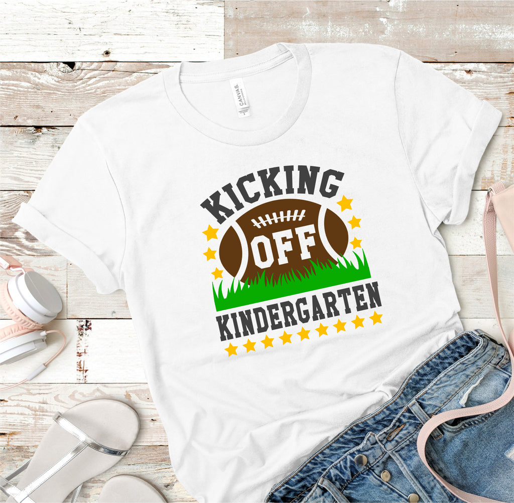 Kicking Off Kindergarten Tee