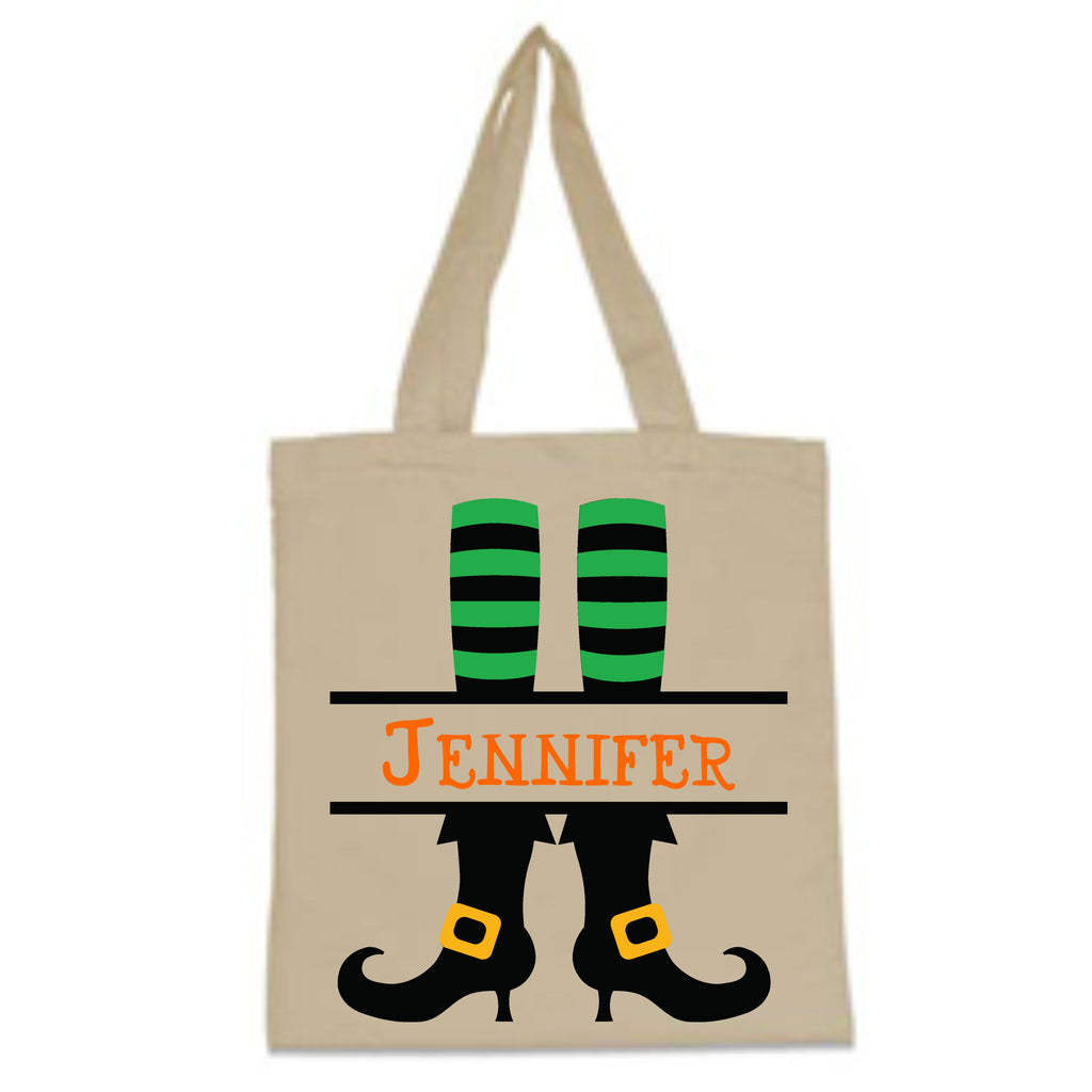 Personalized Halloween Trick-Or-Treat Bag Bags - TruColors Art & Design