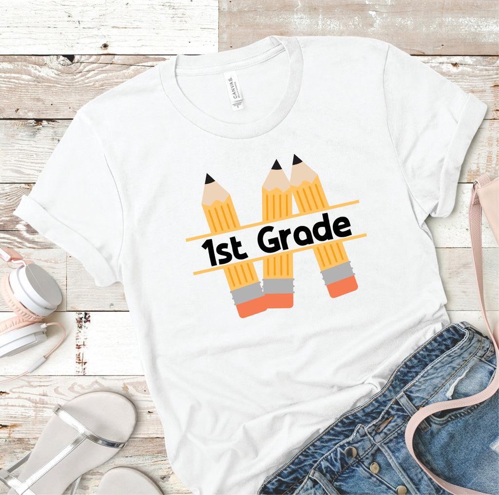 Your School Grade - Pencils - Women's Tee