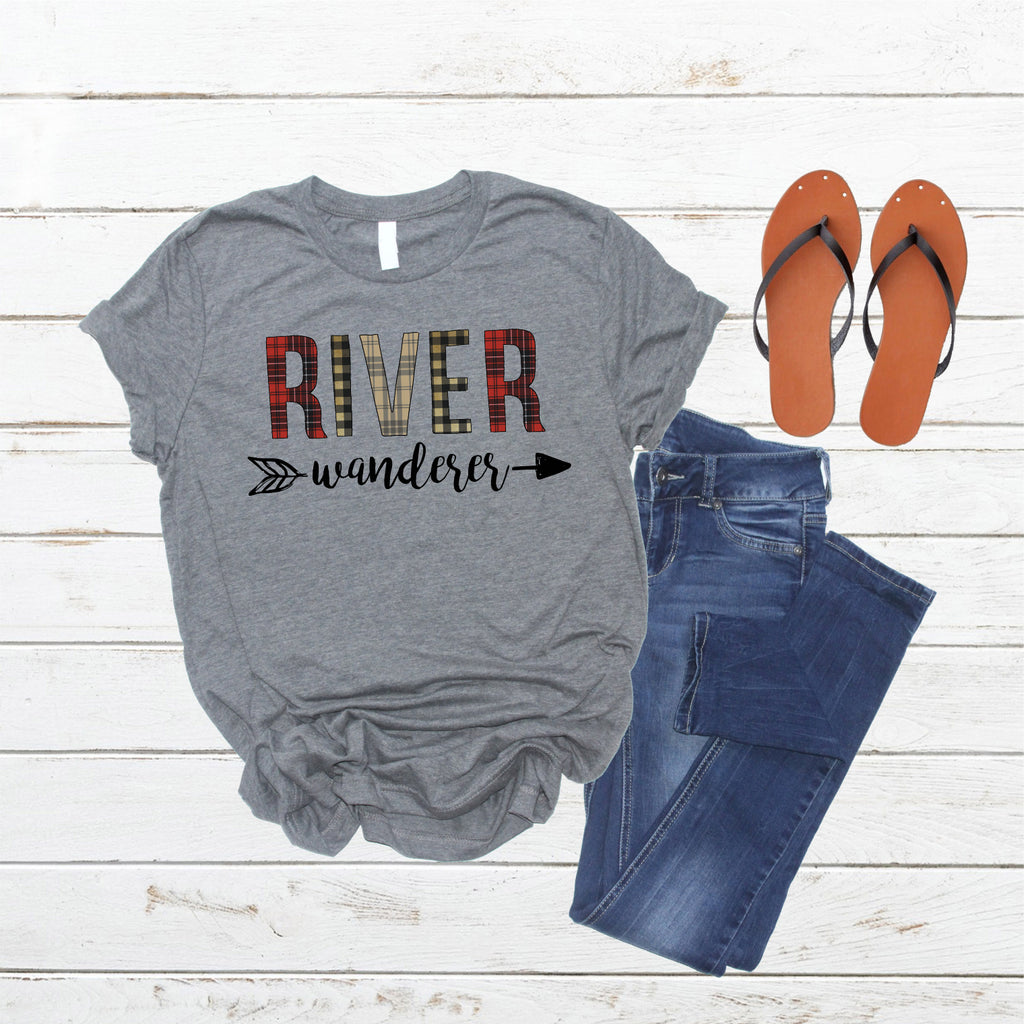 """River Wanderer"" Ladies Tee"