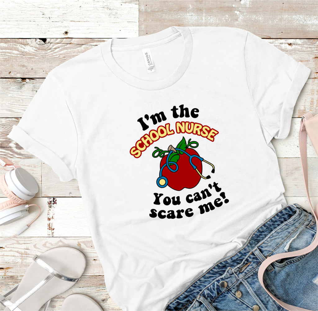School Nurse Teacher Tee