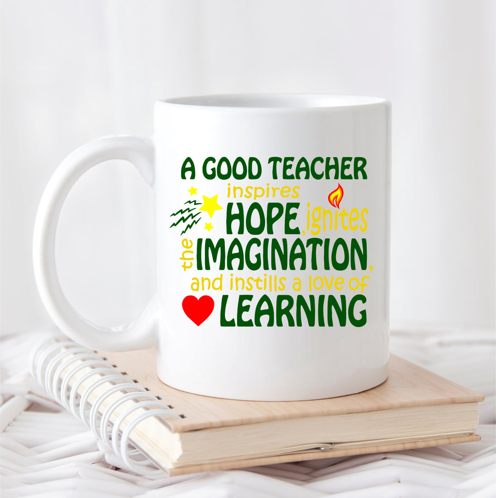 A Good Teacher Coffee Mug