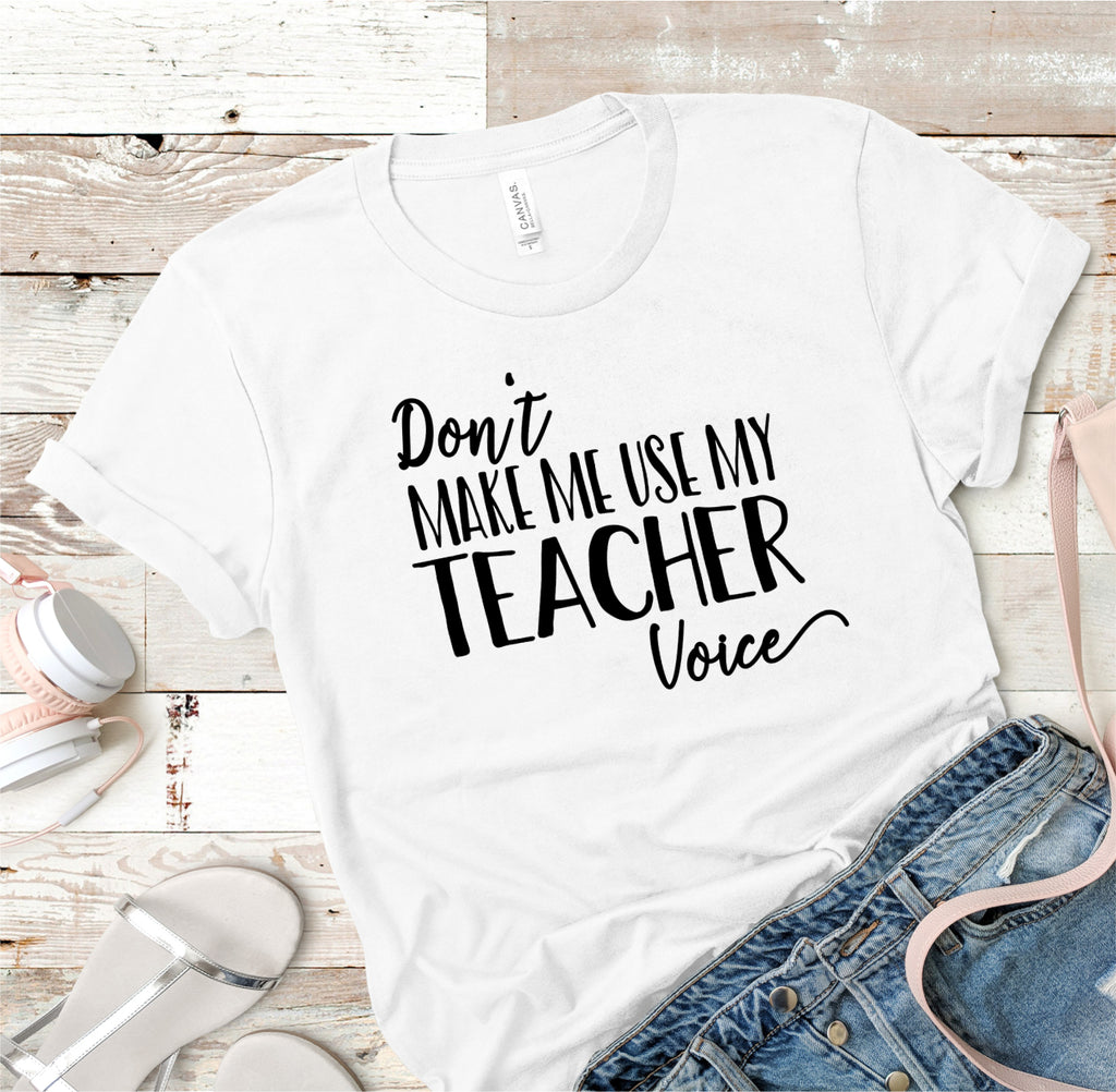 Teacher Voice Tee